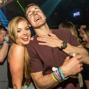 Cancun nightclubbers