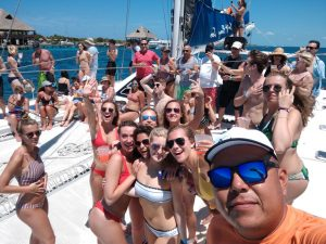 Private Yacht Party in Cancun