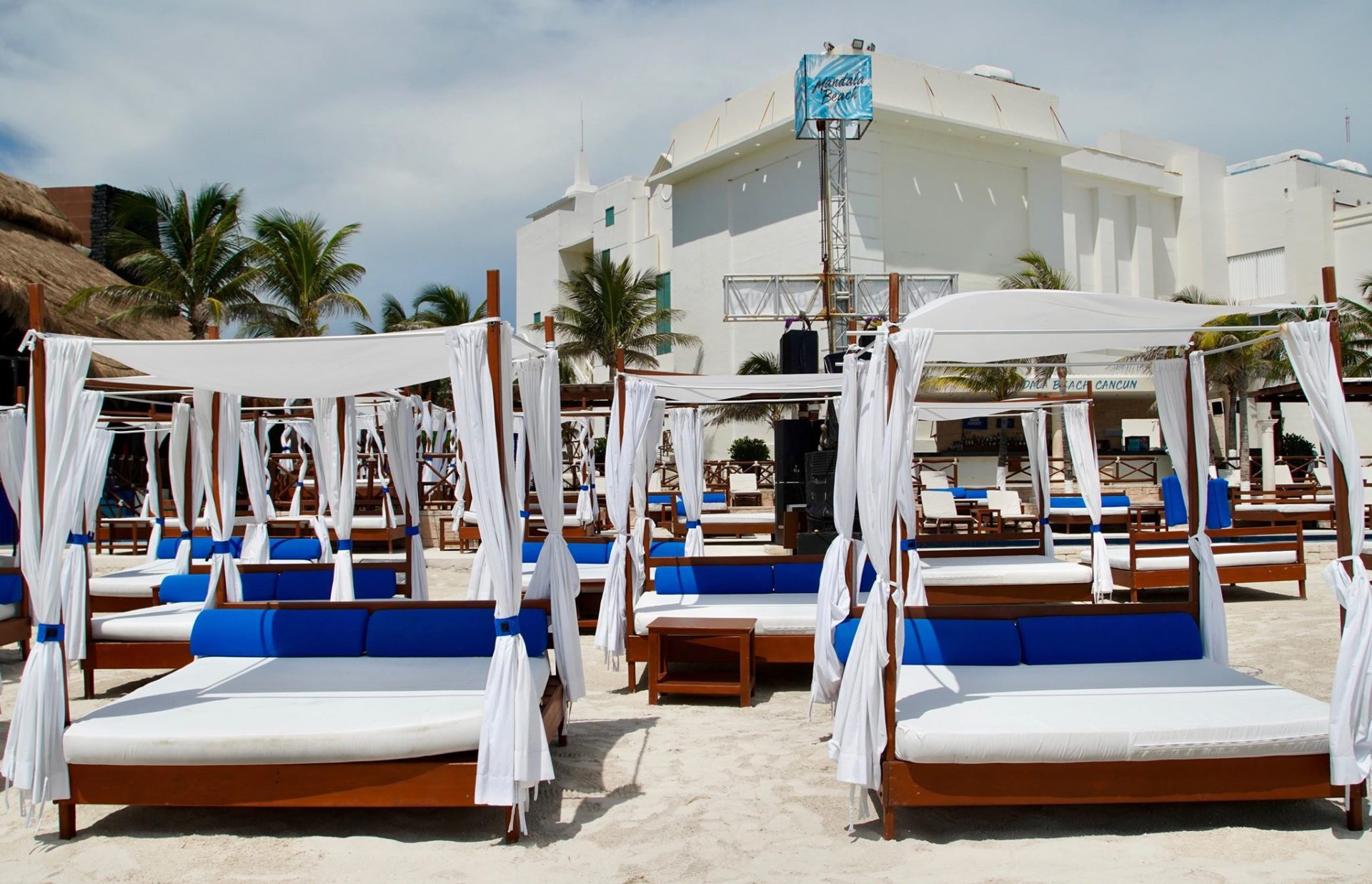Cancun Beach Clubs Day Parties Vip