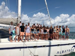 Cancun Spring Break Boat Party